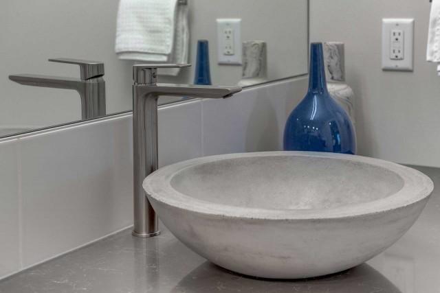 marble bowl shaped basin