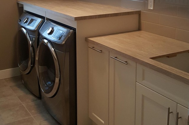 washing machine and tumble dryer side by side